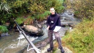 Antti Kaseva, projektledare vid Åbo yrkesskola