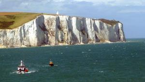 Vita klipporna vid Dover.