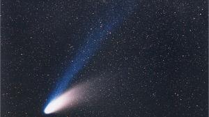 Komeetta Hale-Bopp ja sen kaksi pyrstöä