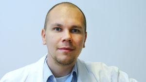 Porträtt på Mika Rämet.