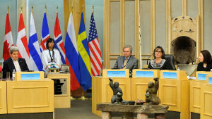 Arktiska rådet sammanträder i Iqaluit den 24 april 2015.