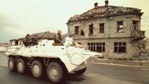 Arkivbild från Vukovar från år 1997.