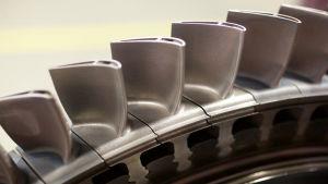 3d-utskrivna turbinblad