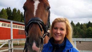 Malin Aura, Korsholms sportryttare