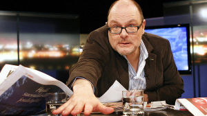 Pressiklubis programledare Ruben Stiller.