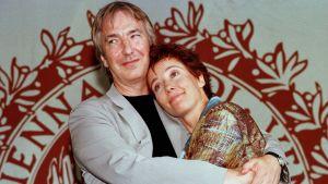 Alan Rickman och Emma Thompson.