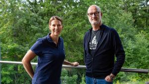 Mikaela Ingberg och Henrik Dettman