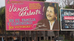 Valkampanj i Nicaragua