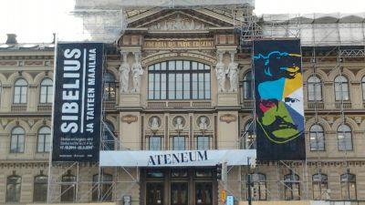Jean Sibelius 150-årsjubileumsutställning på Ateneum 2014-15