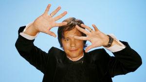 Musiikki-tv:n juontaja Erno Kulmala vuonna 2007 kuvattuna.