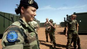 Franska soldater i Tchad 2013