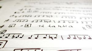 Musiknoter.