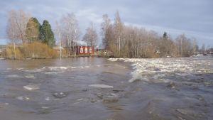 Översvämning i Lappfjärd