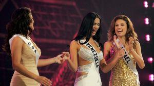 Monica Spear vid Miss Universe-tävlingen år 2005.