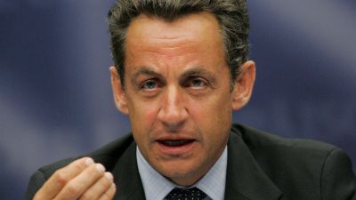 Frankrikes president Nicolas Sarkozy