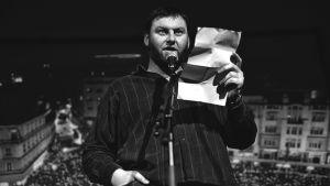 Petar Matovic läser dikt
