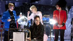 Foto från Prinsessa Hamlet på Q-teatteri.
