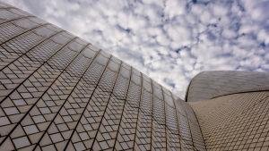 Operahuset i Sydney en eftermiddag i april.