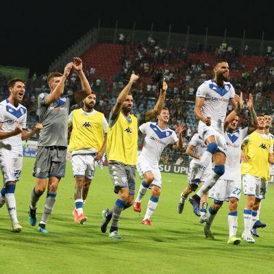 Brescia firar efter seger i säsongspremiären.