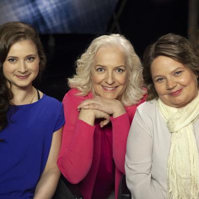 Jenni Hiirikoski, Maarit Tastula ja Marianne Miettinen