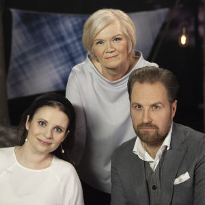 Natalil Lintala, Anne Flinkkilä ja Kyösti Mäkimattila