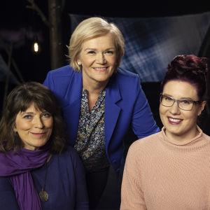 Virpi Koskela, Anne Flinkkilä ja Mariina Hallikainen