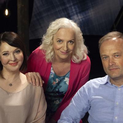 Ulrika Björkstam, Maarit Tastula ja Patrik Lassus