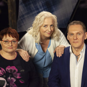 Elina Juusola, Maarit Tastula ja Hannu Kortelainen