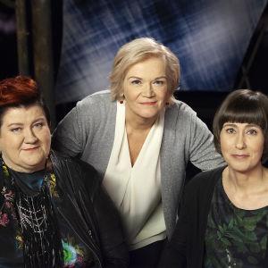 Anitta Ahonen, Anne Flinkkilä ja Johanna Ivaska