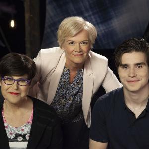 Tuija Talvitie, Anne Flinkkilä ja Aarne Talvitie