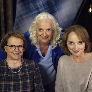Laura Kolbe, Maarit Tastula ja Katriina Järvinen