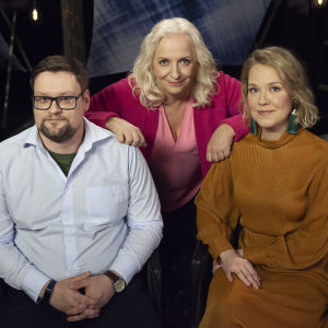 Lauri Randla, Maarit Tastula ja Lea Pakkanen