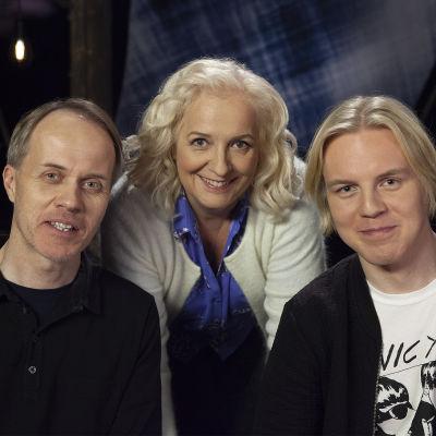 Petri Tamminen, Maarit Tastula ja Antti Rönkä