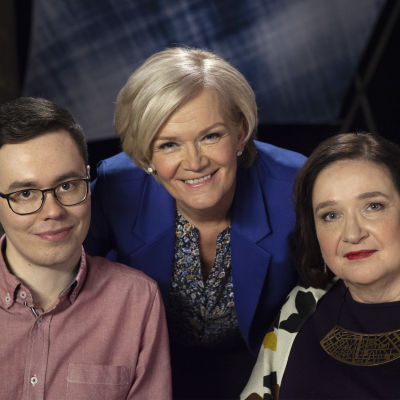 Jere Markkanen, Anne Flinkkilä ja Marja Pirttivaara