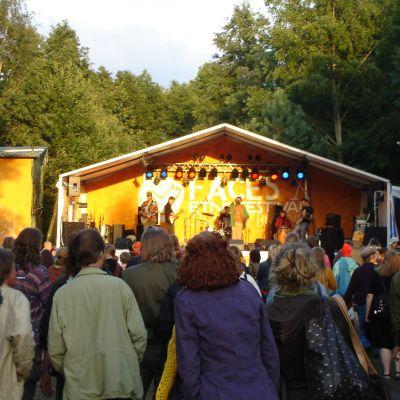 Konsert på Facesfestivalen i Billnäs.