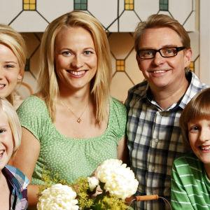Haaviston perhe Uusi Päivä -sarjasta.