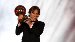 Luka Modric vinner Ballon d'Or 2018.