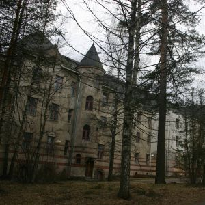 Röykän sairaalan päärakennus