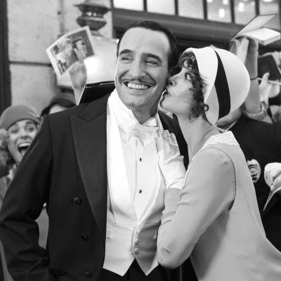 The Artist (2011). Kuvassa Jean Dujardin ja Bérénice Bejo.