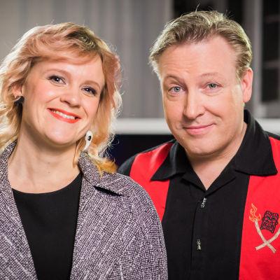 Frida Lindholm och Klaus Suhonen.