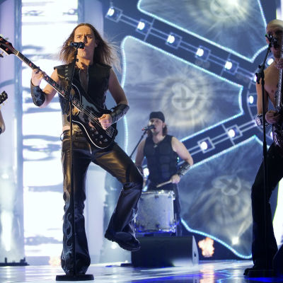 Teräsbetoni esiintyy euroviisukarsinnoissa vuonna 2008.