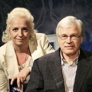 Bengt Holmström ja Maarit Tastula