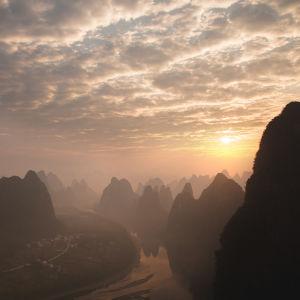 Maisema Kaakkois-Aasiasta