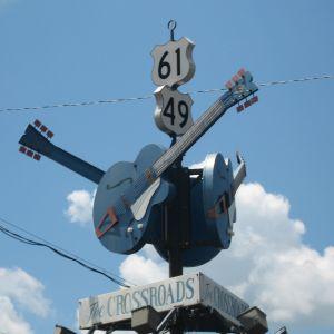 Staden Clarksdales kandidat till vägkorsningen där Robert Johnson sålde sin själ åt Djävulen.