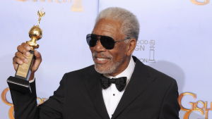 morgan freeman på golden globe awards