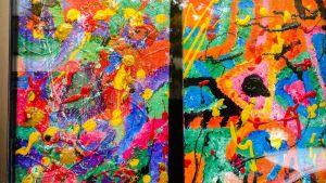 Två av Andy Sundqvists tavlor