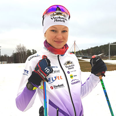 Eveliina Piippo, Rovaniemi, november 2018.