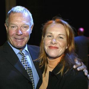 Heikki ja Pia Kahila vuonna 2004.