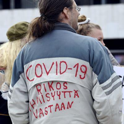 coronaprotest