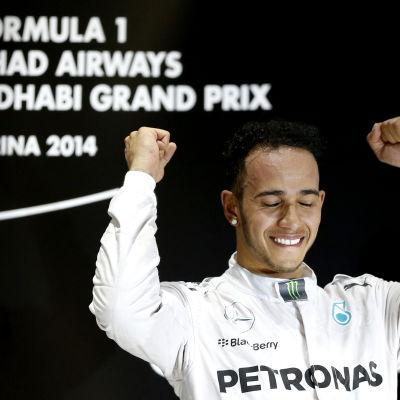 Lewis Hamilton vann mästerskapet 2014.